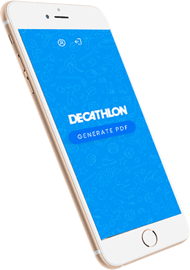 Elyos Digital, projet DECATHLON